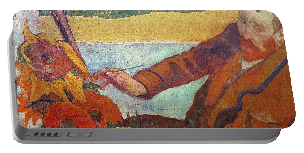 19th Century Portable Battery Charger featuring the photograph Vincent Van Gogh (1853-1890) by Granger