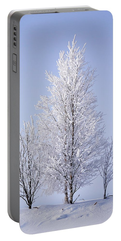 Finland Portable Battery Charger featuring the photograph Winterscape by Jouko Lehto