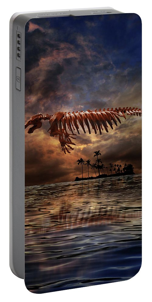 Florida Portable Battery Charger featuring the photograph 4442 by Peter Holme III