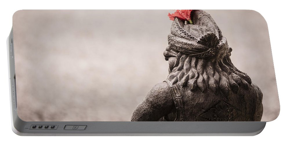 Architecture Portable Battery Charger featuring the photograph Bali Sculpture by Jijo George