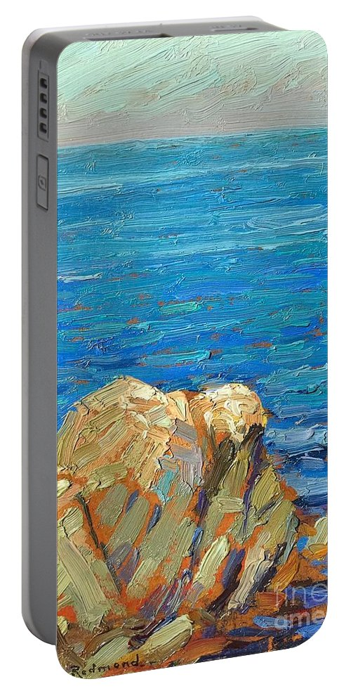We Buy And Sell All Quality Paintings Granville Redmond. Please Call Us Today (310) 570-5679 Portable Battery Charger featuring the painting Granville Redmond by Granville Redmond