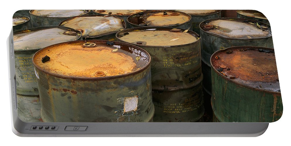 Hazardous Portable Battery Charger featuring the photograph Hazardous Material by Inga Spence