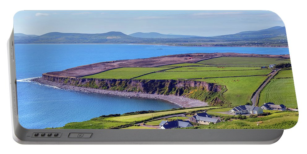 Ballingskelligs Bay Portable Battery Charger featuring the photograph Ring Of Kerry - Ireland by Joana Kruse