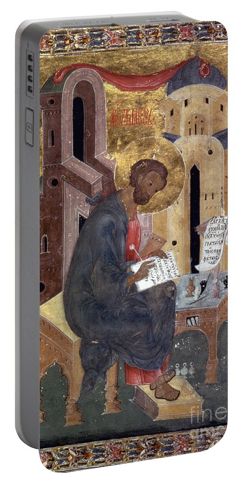 1596 Portable Battery Charger featuring the painting Saint Mark by Granger