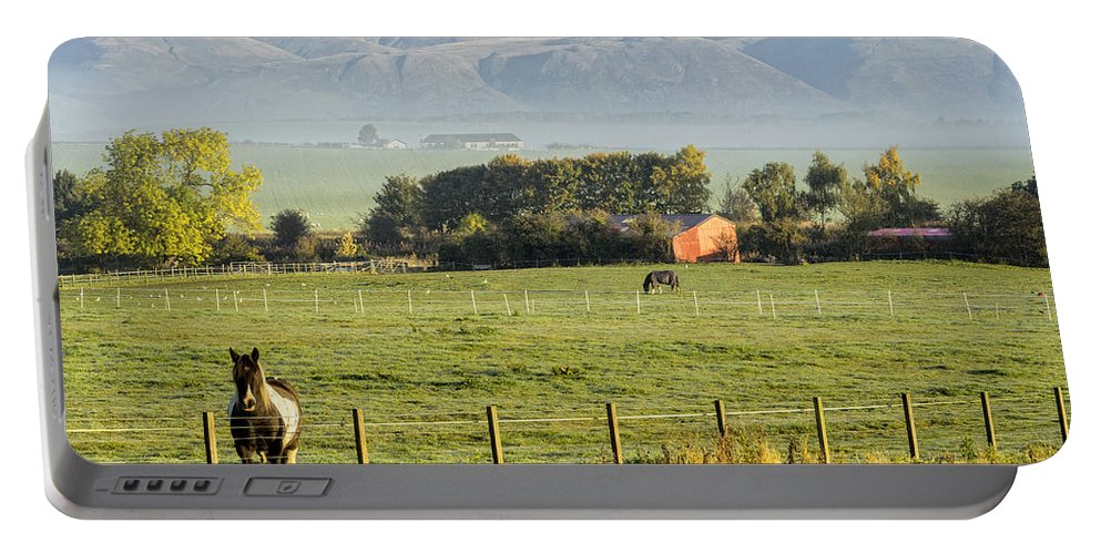 Sony Portable Battery Charger featuring the photograph Scottish Scenery by Jeremy Lavender Photography