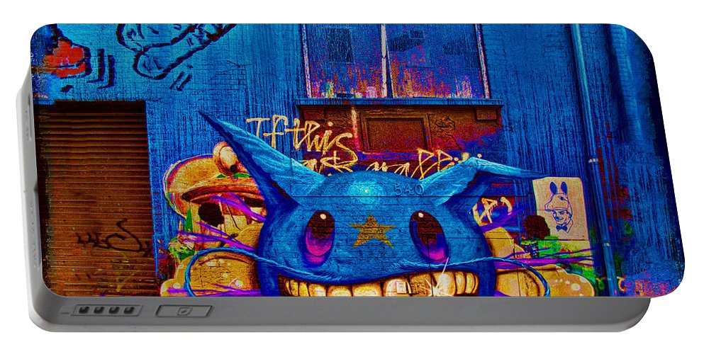 Grafitti Portable Battery Charger featuring the photograph 540 by Chris Lord