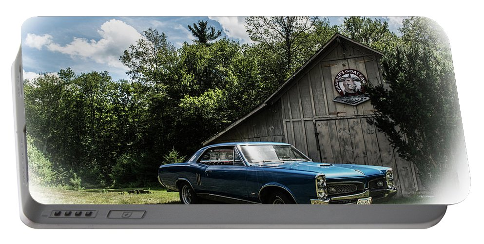 Gto Portable Battery Charger featuring the photograph Classic Cars by Mickie Bettez