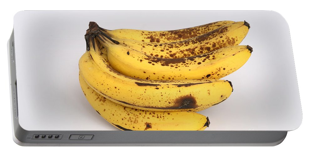 Plant Portable Battery Charger featuring the photograph Banana Ripening Sequence by Ted Kinsman