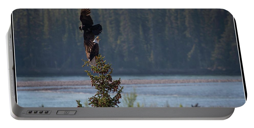 Portable Battery Charger featuring the photograph 6 by J and j Imagery