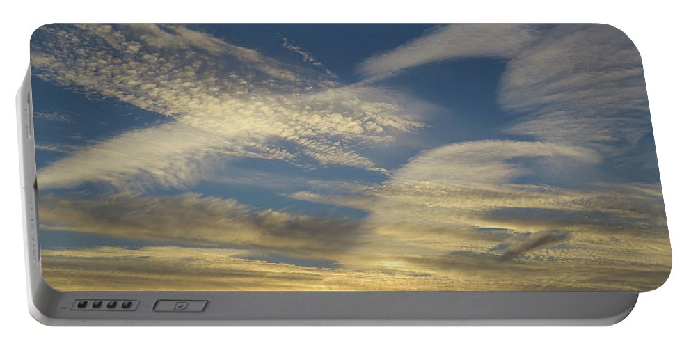 Sunset Portable Battery Charger featuring the photograph Sunset by Phil Cooling