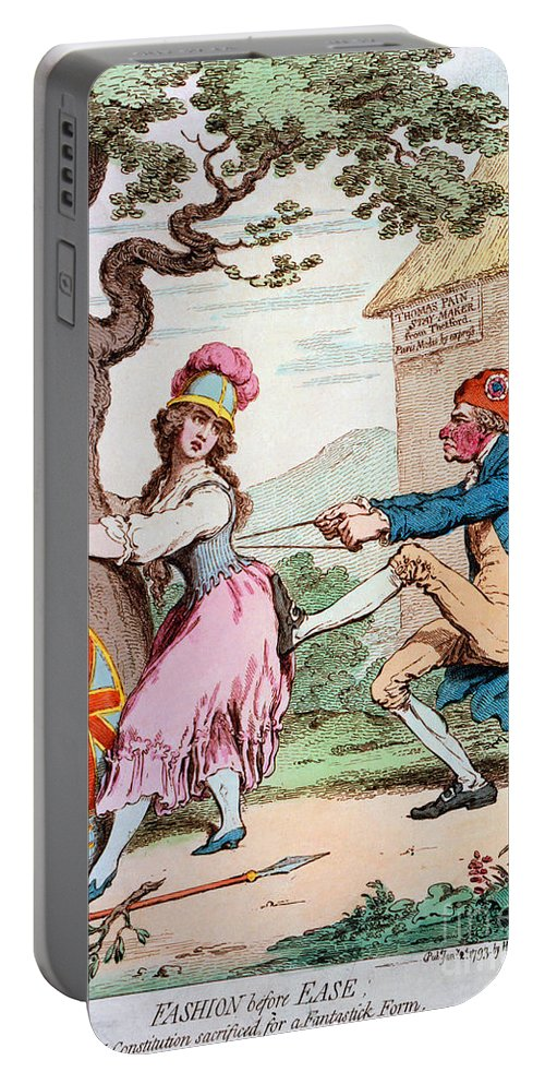1793 Portable Battery Charger featuring the photograph Thomas Paine (1737-1809) by Granger
