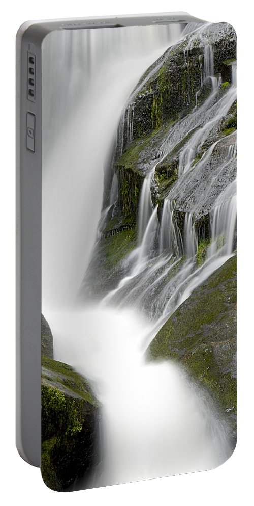 Water Portable Battery Charger featuring the photograph Waterfall by FL collection