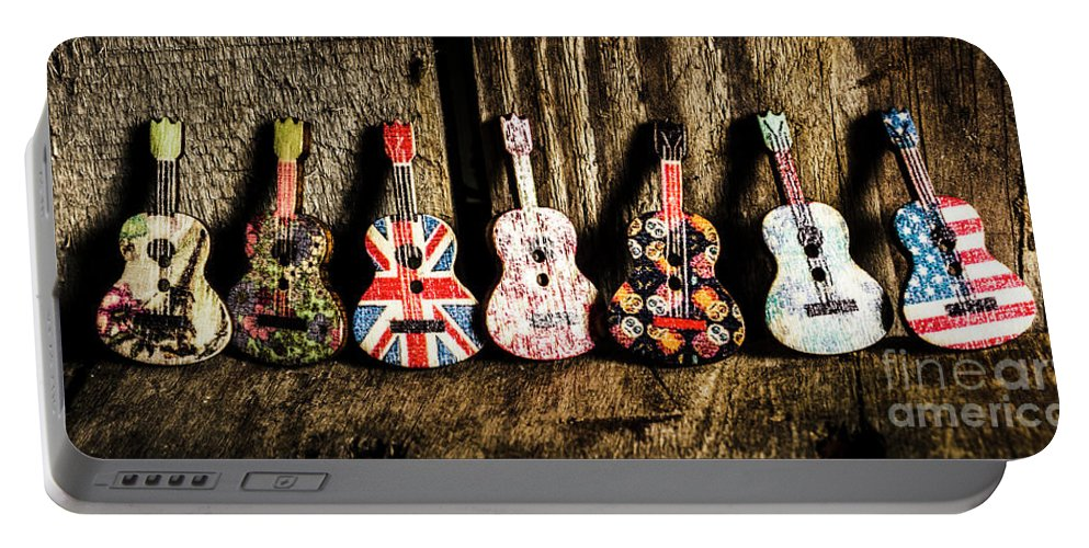 Play Portable Battery Charger featuring the photograph 7 Continents Of Sounds 7 by Jorgo Photography - Wall Art Gallery