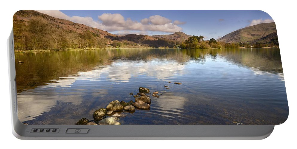 Grasmere Portable Battery Charger featuring the photograph Grasmere by Smart Aviation