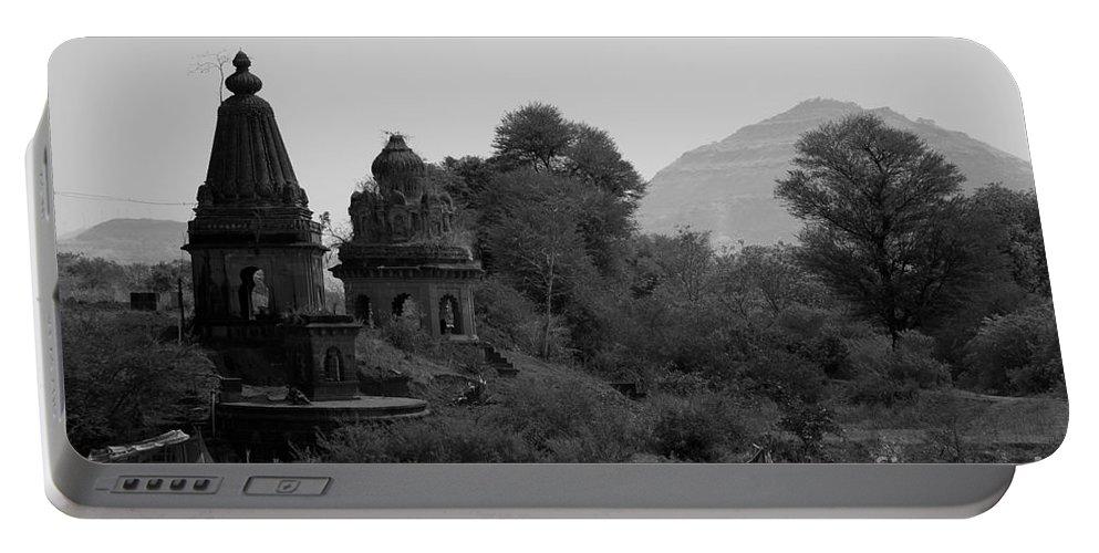 Mahuli Portable Battery Charger featuring the photograph Mahuli Village by Kiran Joshi