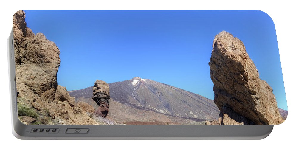Tenerife Portable Battery Charger featuring the photograph Tenerife - Mount Teide by Joana Kruse