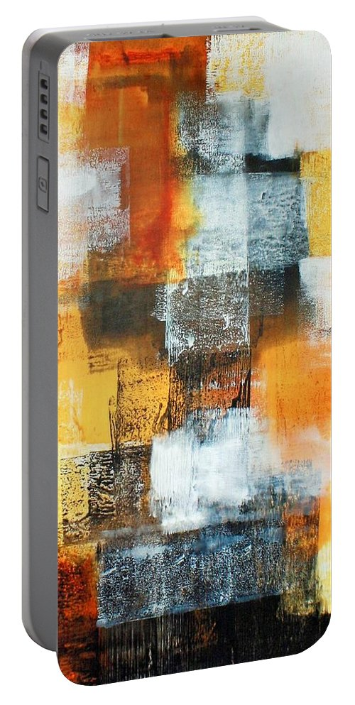 Art Portable Battery Charger featuring the painting Untitled by William Hartill