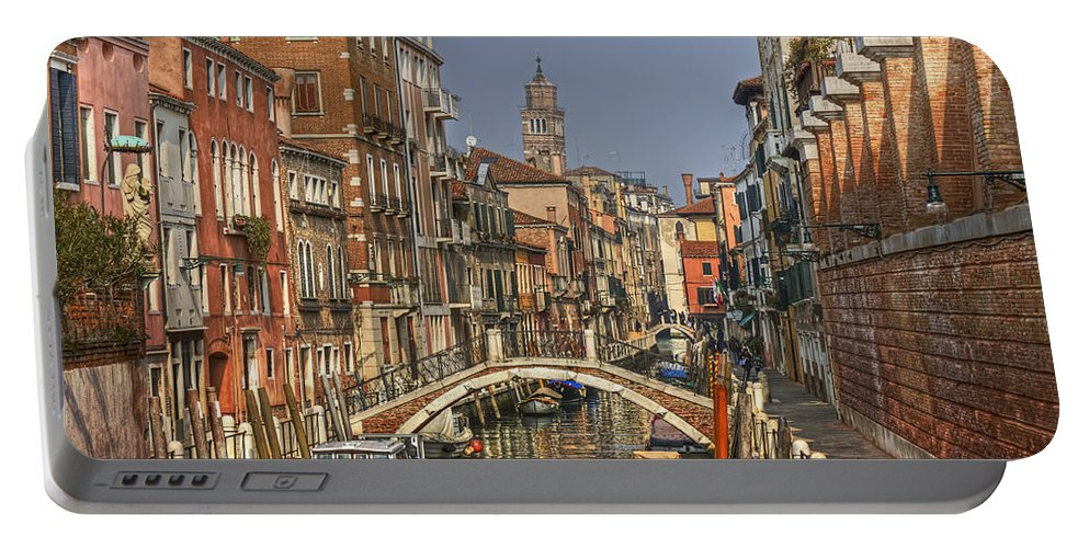 Architecture Portable Battery Charger featuring the photograph Venice - Italy by Joana Kruse