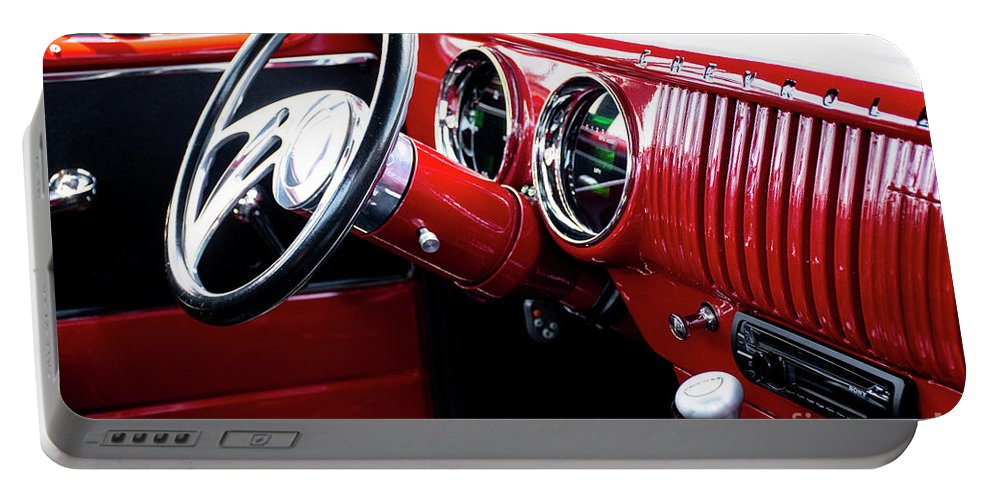 Fineartroyal Portable Battery Charger featuring the photograph Classic Car by FineArtRoyal Joshua Mimbs