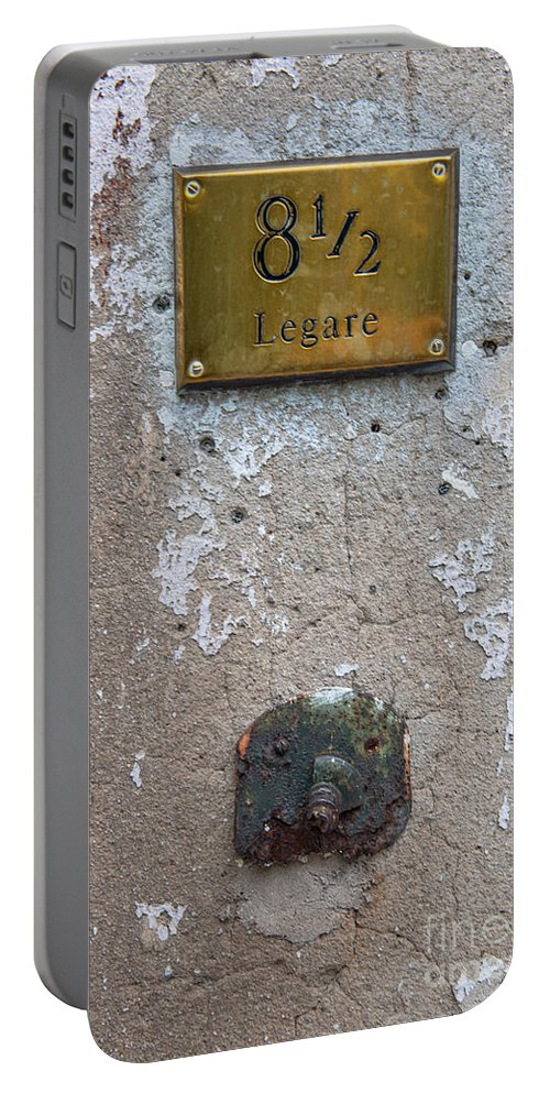 8 1/2 Legare Street Portable Battery Charger featuring the photograph 8 1/2 Legare by Dale Powell