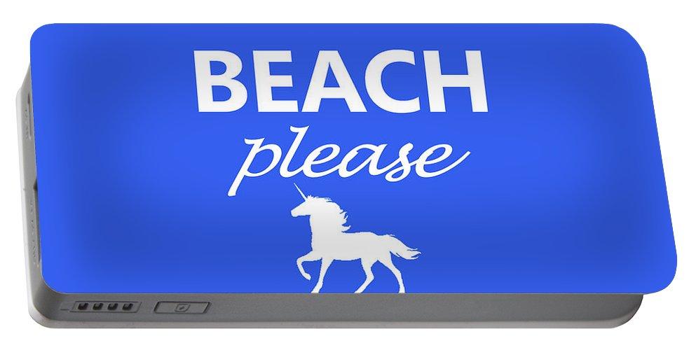 Beach Portable Battery Charger featuring the photograph Beach Please by Robert Banach