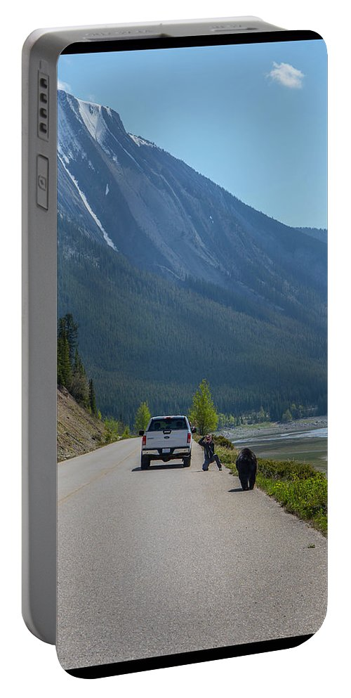 Portable Battery Charger featuring the photograph 8 by J and j Imagery