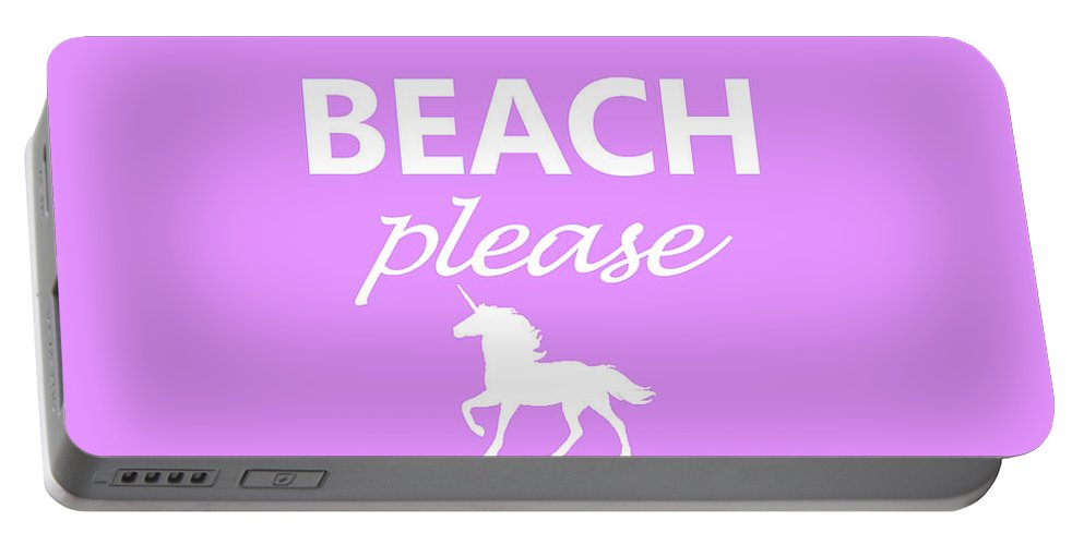 Beach Portable Battery Charger featuring the photograph Beach Please by Robert Banach