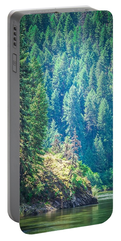 Landscape Portable Battery Charger featuring the photograph Vast Scenic Montana State Landscapes And Nature by Alex Grichenko