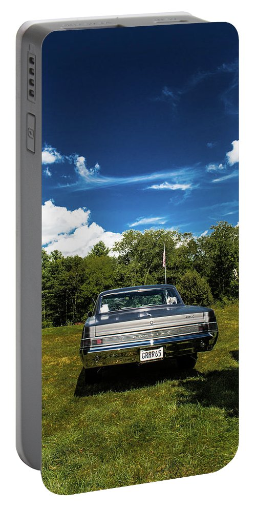 Classic Portable Battery Charger featuring the photograph Classic Cars by Mickie Bettez