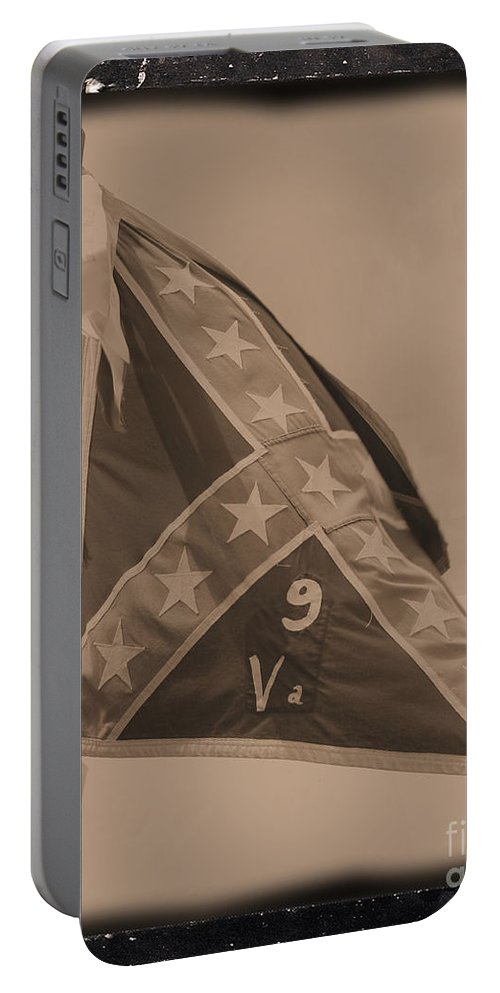 Civil War Portable Battery Charger featuring the photograph 9th Virginia by Tommy Anderson