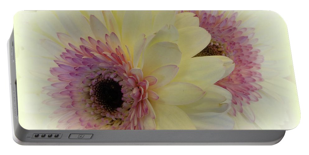 Daisy Portable Battery Charger featuring the digital art A Bouquet For My Love 20 by To-Tam Gerwe
