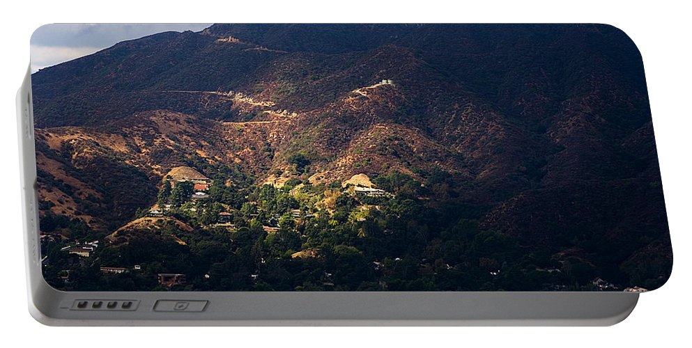 Clay Portable Battery Charger featuring the photograph A Break In The Clouds In Southern California by Clayton Bruster