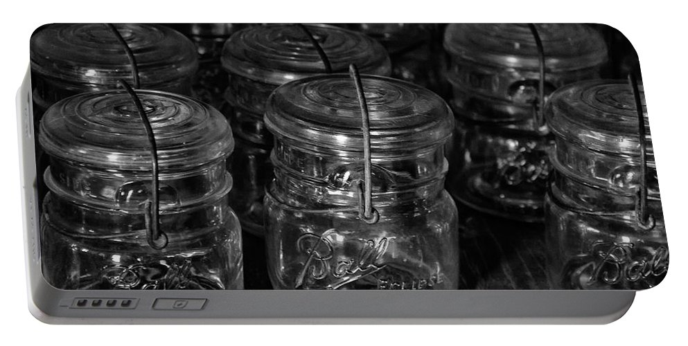 Castle Dome City Portable Battery Charger featuring the photograph A Bunch A Balls by Guy Shultz