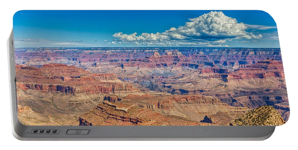 Landscape Portable Battery Charger featuring the photograph A Canyon Grand by John M Bailey