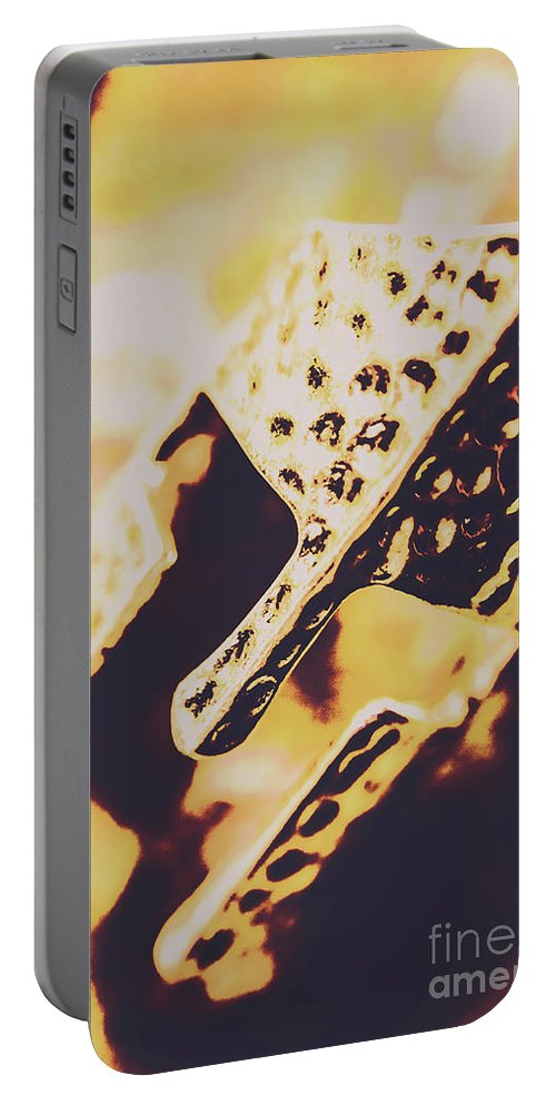 Middle Ages Portable Battery Charger featuring the photograph A Knights Guard by Jorgo Photography - Wall Art Gallery