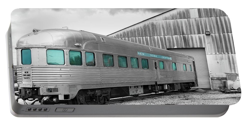 Trains Portable Battery Charger featuring the photograph A Little Ny In Nola by Daniel Valentin