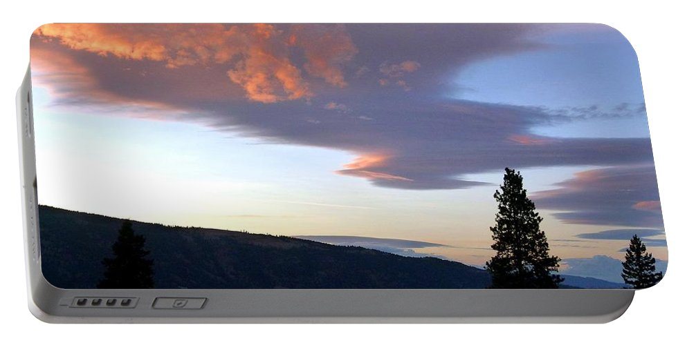 Magnificent Moment Portable Battery Charger featuring the photograph A Magnificent Moment 1 by Will Borden