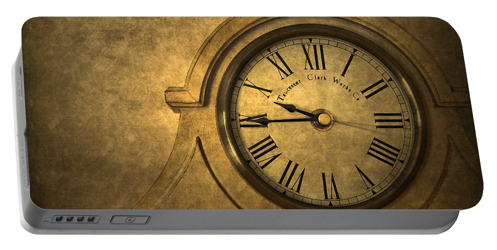Time Portable Battery Charger featuring the photograph A Moment In Time by Evelina Kremsdorf