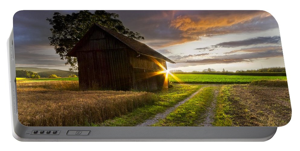 American Portable Battery Charger featuring the photograph A Moment Like This by Debra and Dave Vanderlaan