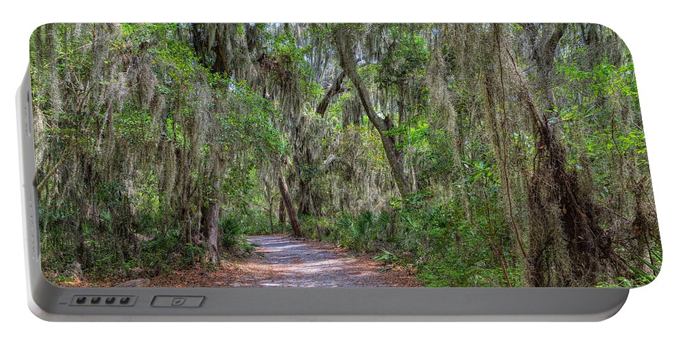 Landscape Portable Battery Charger featuring the photograph A Pleasant Stroll by John M Bailey