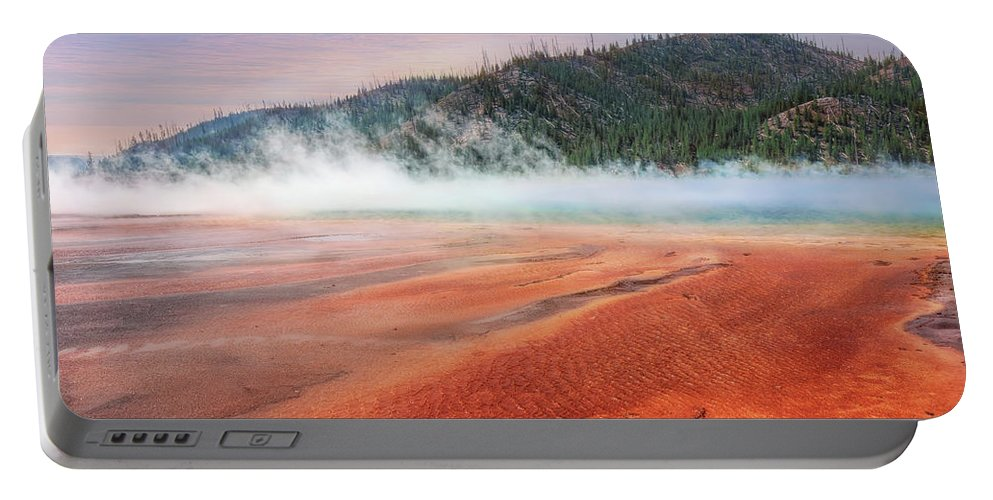 Landscape Portable Battery Charger featuring the photograph A Strange Place by John M Bailey