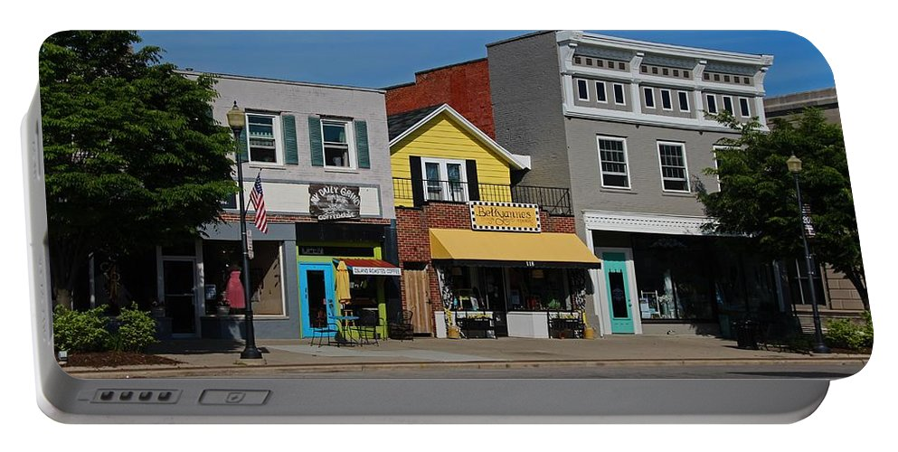 Street Portable Battery Charger featuring the photograph A Street In Perrysburg I by Michiale Schneider