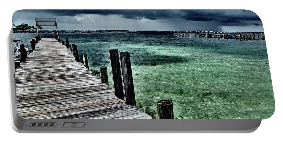 Caribbean Portable Battery Charger featuring the photograph Abaco Islands, Bahamas by Cindy Ross