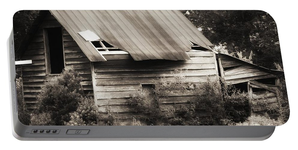 House Portable Battery Charger featuring the photograph Abandoned by Amanda Johnson