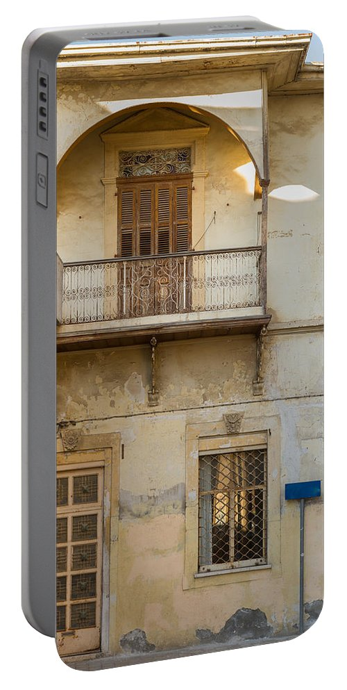 Cyprus Portable Battery Charger featuring the photograph Abandoned But Still Beautiful by Iordanis Pallikaras