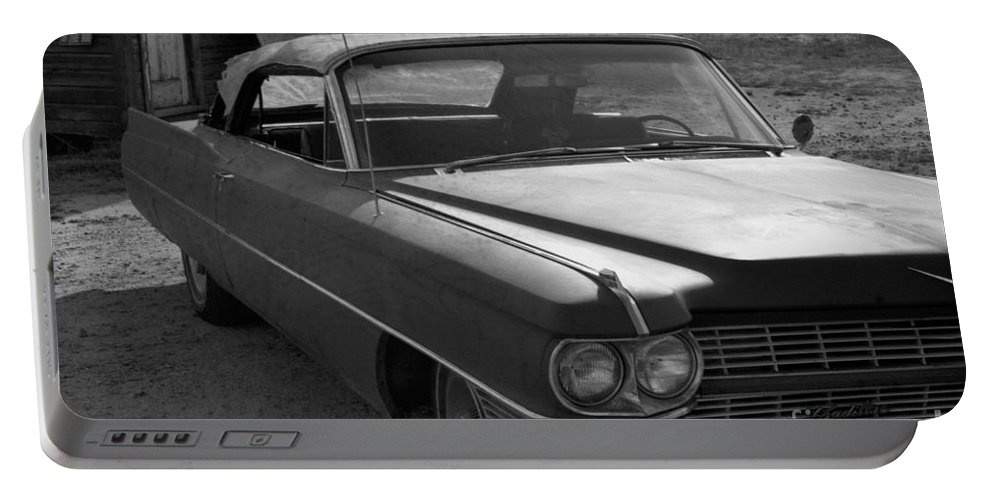 Cadillac Portable Battery Charger featuring the photograph Abandoned Classic by Richard Rizzo