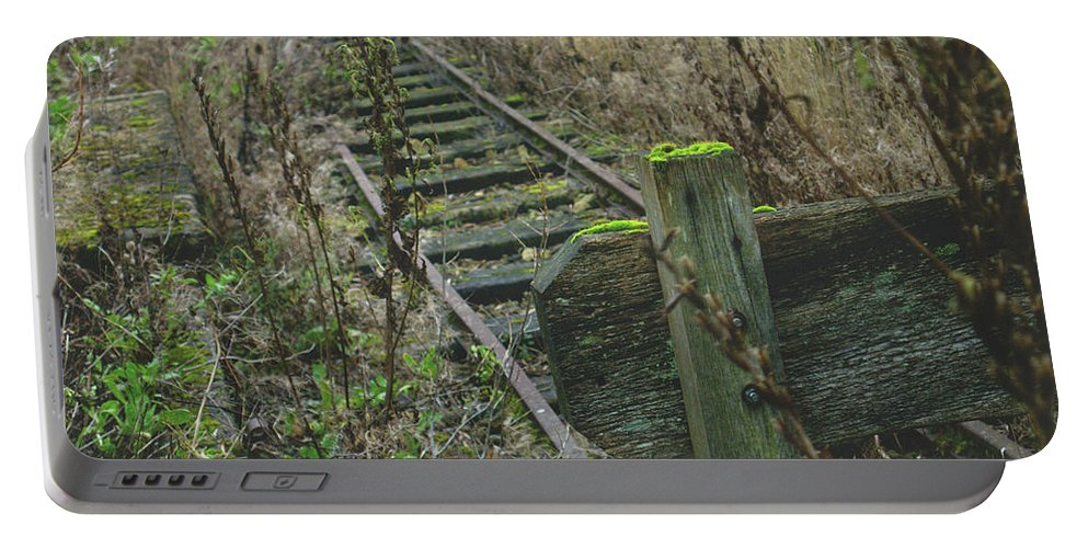 Hidden Portable Battery Charger featuring the photograph Abandoned Miniature Railway by James Golding