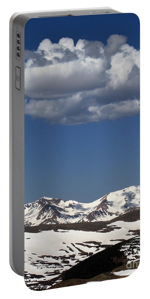 Colorado Portable Battery Charger featuring the photograph Above It All by Amanda Barcon