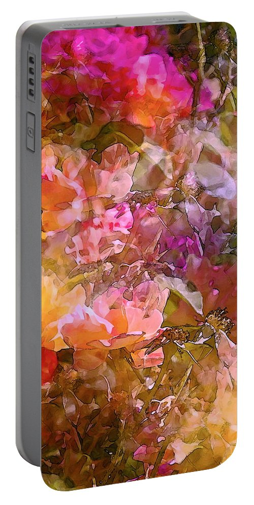 Abstract Portable Battery Charger featuring the photograph Abstract 276 by Pamela Cooper