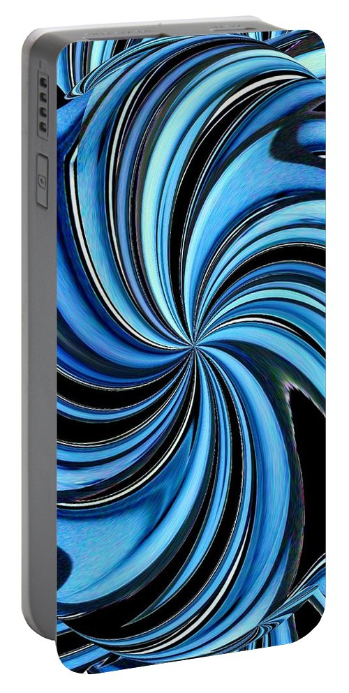 Abstract Portable Battery Charger featuring the photograph Abstract 4 by Tim Allen